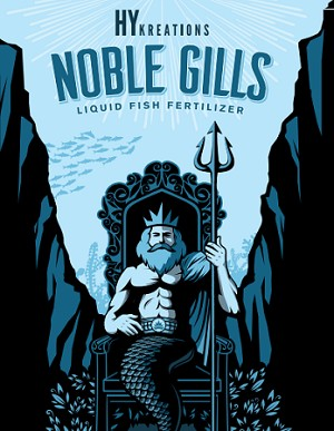 Liquid Fish Fertilizer, Noble Gills