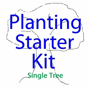 Urban Farm Planting Kit - Single Fruit Tree & Small Garden Starter